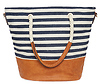 Nautical Striped Tote