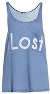 Wildfox Couture Totally Lost Lifeguard Tank