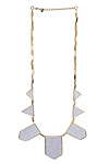House of Harlow 1960 Star Five Station Necklace