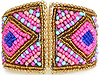 DAILYLOOK Bold Beaded Cuff Bracelet