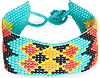 DAILYLOOK Tribal Beaded Loom Bracelet