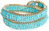 DAILYLOOK Beaded Dots Wrap Bracelet