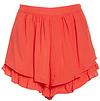 High Waist Ruffle Shorts