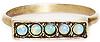 Vanessa Mooney Femme Fatale Opal Ring