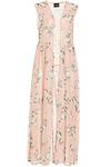 Sleeveless Floral Kimono