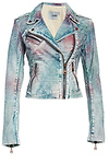 DOMA Tie Dye Leather Jacket