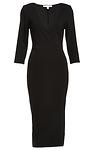 DAILYLOOK Classic Bodycon Midi Dress