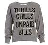 CHRLDR Thrills Boatneck Sweatshirt