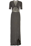 DAILYLOOK Tie Bodice Jersey Maxi Dress