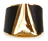 Sibilia Grieta Leather Cuff Bracelet