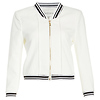 Lucy Paris Cropped Femme Bomber Jacket