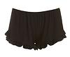 Ruffled Hem Knit Shorts