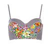 MINKPINK Wild Arrangement Bralette Bikini Top