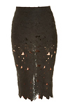 DAILYLOOK Venise Lace Pencil Skirt