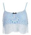 For Love & Lemons Holly Lace Crop Top