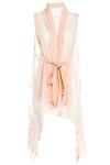 Lace Shawl Vest