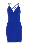 X-Back Bodycon Dress