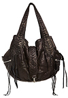Jesslyn Blake Noah Leather Shoulder Bag