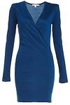 DAILYLOOK Wrap Bodice Bodycon Dress