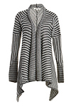 BB Dakota Mayer Striped Sweater Coat