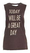 DAYDREAMER Today Will Be Timeless Muscle Tank
