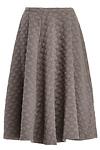 J.O.A. Dotted Jacquard Skirt