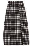 J.O.A. Plaid Midi Skirt