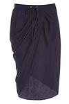 Achro Draped Sarong Skirt