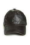 DAILYLOOK Vegan Leather Baseball Cap