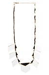 House of Harlow 1960 Moderne Motif Necklace