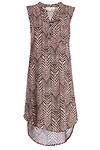 Olive & Oak Arrow Print Midi Dress