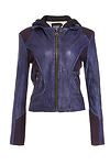 DOMA Simone Leather Hoodie Jacket