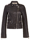 DOMA Rose Quilted Leather Jacket