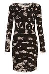 Gypsy05 Smalti Bamboo Shirred Dress