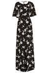 Line & Dot Blossom Jumpsuit
