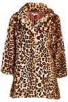 DAILYLOOK Leopard Print Coat