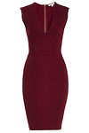 DAILYLOOK Plunge Neck Bodycon Dress