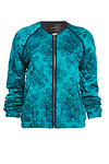 Maison Scotch Floral Quilted Bomber Jacket