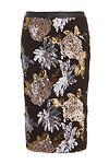 JOA Sequin Pencil Skirt