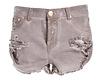 One Teaspoon Fox Bandit Denim Shorts