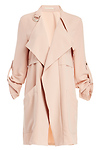 Cameron Cropped Trench Coat