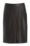 Cameo Frontier Leather Skirt