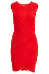 BARDOT Mesh Scuba Dress