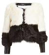 Line & Dot Scarlett Faux Fur Jacket
