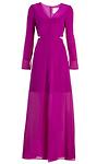 Line & Dot Norma Silk Maxi Dress