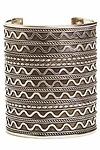 Natalie B Azteca 3 Tribal Cuff Bracelet