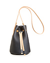 CHC Small Leather Bucket Bag