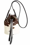CHC Cowhide Bucket Bag