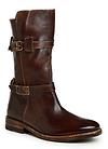 Bed Stu Teak Rustic Leather Buckle Boot