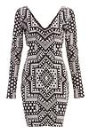 Mara Hoffman Jacquard Knit Cutout Dress